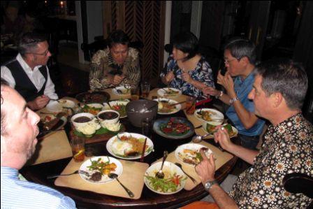 Dinner in Jakartasize