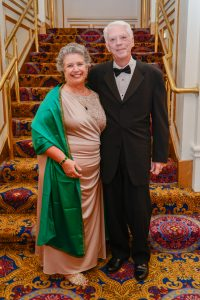 Peg Knoll, RDCS, FASE, was named ASE's 3rd Sonographer Lifetime Achievement recipient. Her husband Jack Knoll was with her to witness this honor